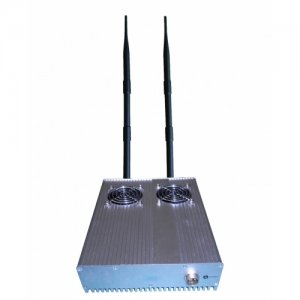 High Power RF Signal 345MHz 868MHz Remote Control Jammer with Tabletop Style