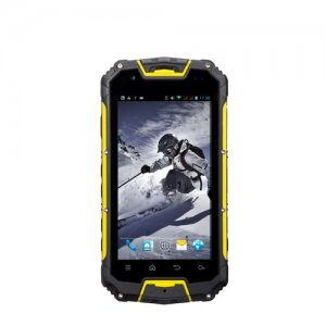 Snopow M8S Rugged Smartphone 4.5 inch QHD Screen IP68 Waterproof MTK6572W Android 9.1 - Yellow