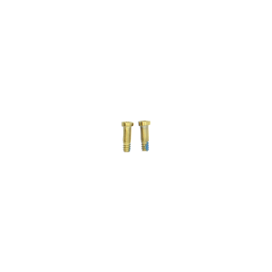 iPhone 6s and 6s Plus Bottom Pentalobe Screws - White/Gold