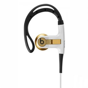 Gold Limited Edition Headphones with Remote Control | Powerbeats from Beats by Dre Headphones