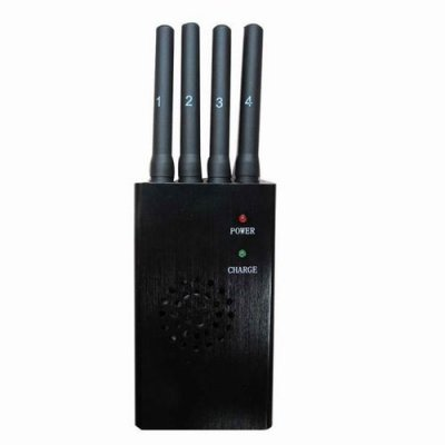 Portable High Power 3G 4G Cell Phone Jammer with Fan (CDMA GSM DCS PCS 3G 4G wimax)