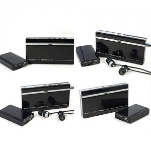 Mini Wireless Audio Monitoring Transmitter and Receiver Kits