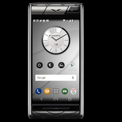 Vertu Aster Quilt Black Clone Android 11.0 Snapdragon 821 4G LTE luxury Phone