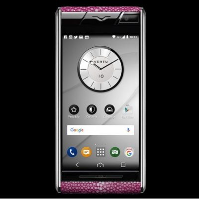 Vertu Aster Stingray Pink Clone Android 11.0 Snapdragon 821 4G LTE luxury Phone