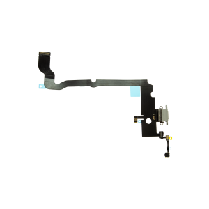 iPhone XS Max Charging Port Flex Cable - Silver