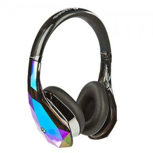 Monster Diamond Tears Hi-Definition On-Ear Headphones Black