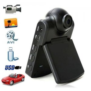 2.5 Inch TFT LCD Portable Car DVR with The rotated Lens for 180 degree + HDMI