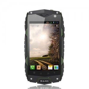 Mann ZUG 3 Outdoor Sports IP68 Waterproof Qualcomm Quad Core Android 9.1 Smartphone - Green