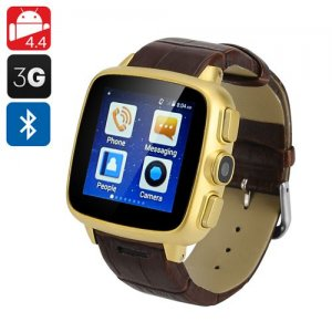Ordro SW18 Cell Phone Watch - Android 9.1, 3G SIM Slot, Micro SD Support, 1.54 Inch Touch Screen, Bluetooth