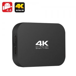A400 H3 4K Quad Core TV Box - AllWinner H3 1.2GHz CPU, 1GB RAM, OTG, Miracast, DLNA, Airplay, SD Card Slot, Android 9.1
