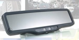 DVR-100A Rearview Mirror Car Recorder Vehicle DVR