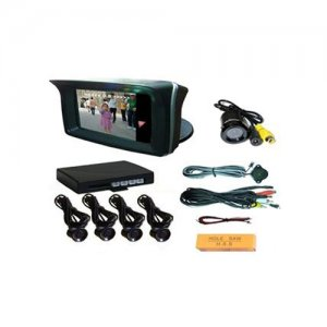 "RD729SC4 Video Parking Sensor With Camera And 2.3"" TFT Monitor"