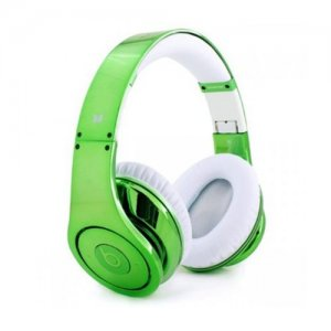 Beats By Dr.Dre Studio Electroplating Colorware Chrome Limited Edition (Green)