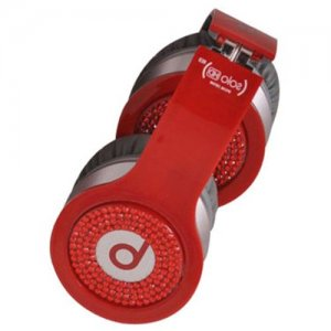 Beats By Dr Dre Solo Red Diamond Headphones Red