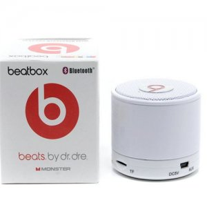 Beats By Dr Dre Beatsbox Portable Bluetooth Mini Speakers White
