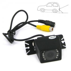 PAL Mode Adjustable Angle Car Rear View Color CMOS Camera