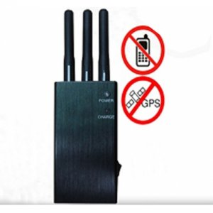 5 Band Handheld Style WiFi Bluetooth Mobile Phone Signal Jammer