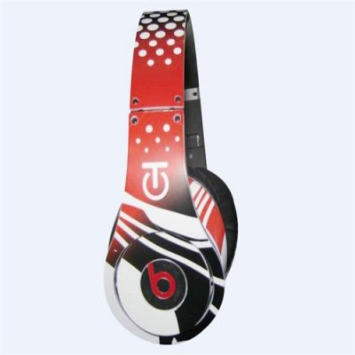 Monster Beats by Dr Dre Graffiti Limited Edition Headphones Red