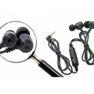 Headphones w/ Hidden Camera