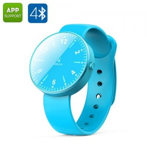 inWatch Smart Watch - 12 LED, Pedometer, Sleep Monitor, Bluetooth 4.0, Support iOS/Android (Blue)