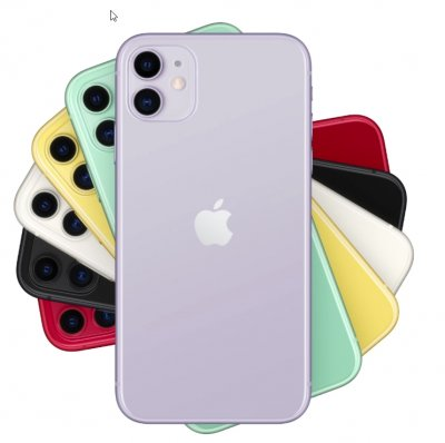 iPhone 11 iOS 14 Snapdragon 855 Octa Core 6.1 inch Retina Screen 4G LTE 64GB 128GB 256GB