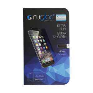 NuGlas Tempered Glass Screen Protector for iPhone 8 Plus (2.5D)