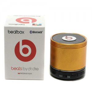 Beats By Dr Dre Beatsbox Portable Bluetooth Mini Speakers Gold