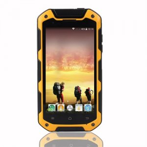 iMAN i5800 Smartphone 4.5'' HD Screen MTK6582 Quad Core Android 9.1 1G/8GB IP67 Waterproof - Yellow