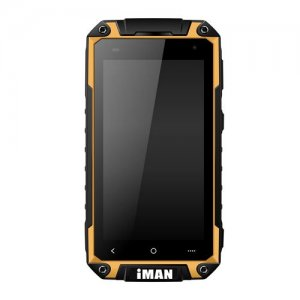 iMAN i6800 Smartphone 4.7'' HD Screen MTK6582 Quad Core Android 9.1 1G/8GB IP67 Waterproof - Yellow