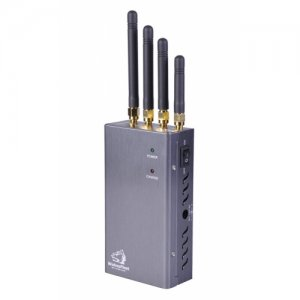 Wireless Bug Camera Audio WiFi Jammer with Hand-held design