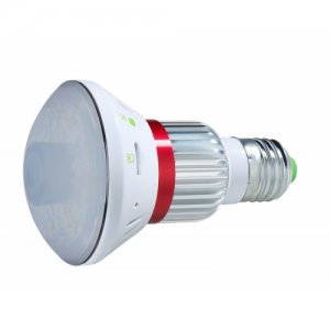 720p HD Wi-Fi IP Light Bulb Camera