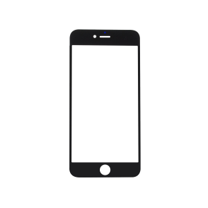 iPhone 6 Plus Glass Lens Screen - Black