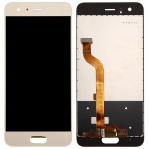 Phone LCD Screen Digitizer Full Assembly for Huawei Honor 9 - GOLD