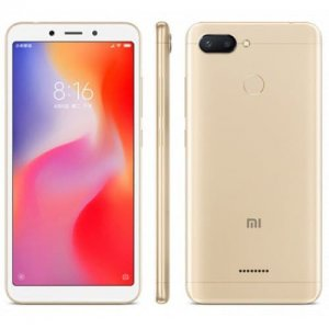 Xiaomi Redmi 6 4G Smartphone English and Chinese Version - CHAMPAGNE