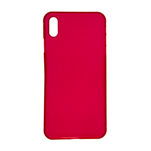 iPhone XS Ultrathin Phone Case - Frosted Red