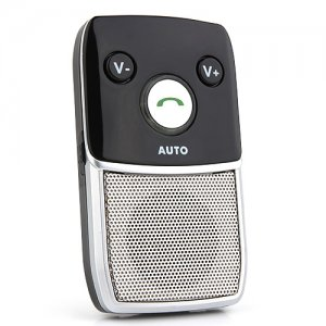 Handsfree Car Kit Bluetooth V2.1+EDR Solar-Powered Speakerphone