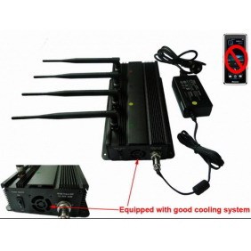 Cellphone Signal Jammer with Car Charger - Radius Range Up to 30 meters