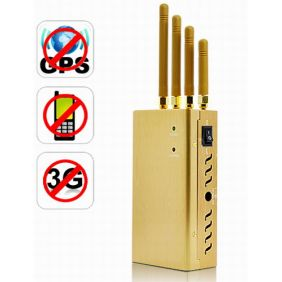 High Power Signal Jammer for GPS, Cell Phone, 3G