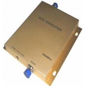 DCS Mobile Phone Signal Repeater Gain 65dB Power 20dbm 1000 Square Meters
